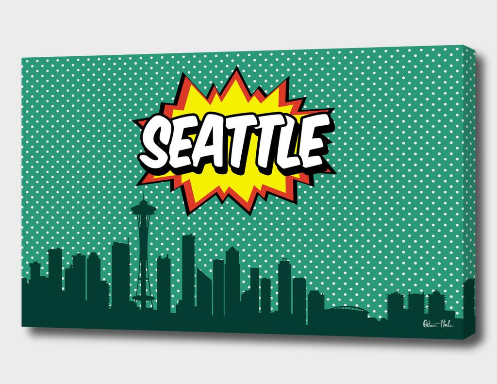 Seattle Pop Skyline