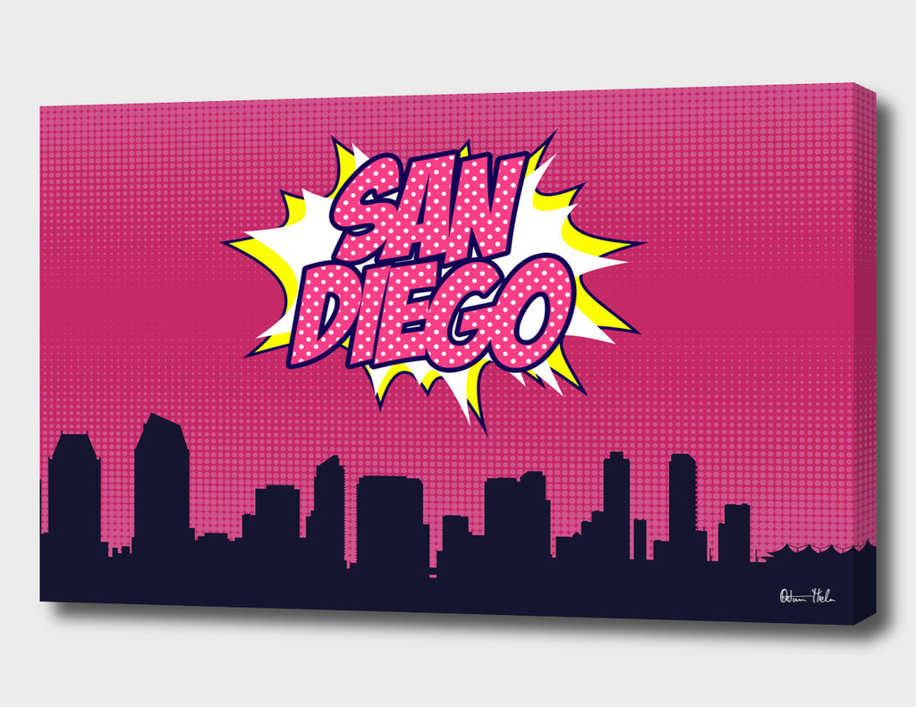 San Diego Pop Skyline