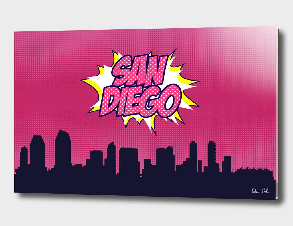 San Diego Pop Skyline