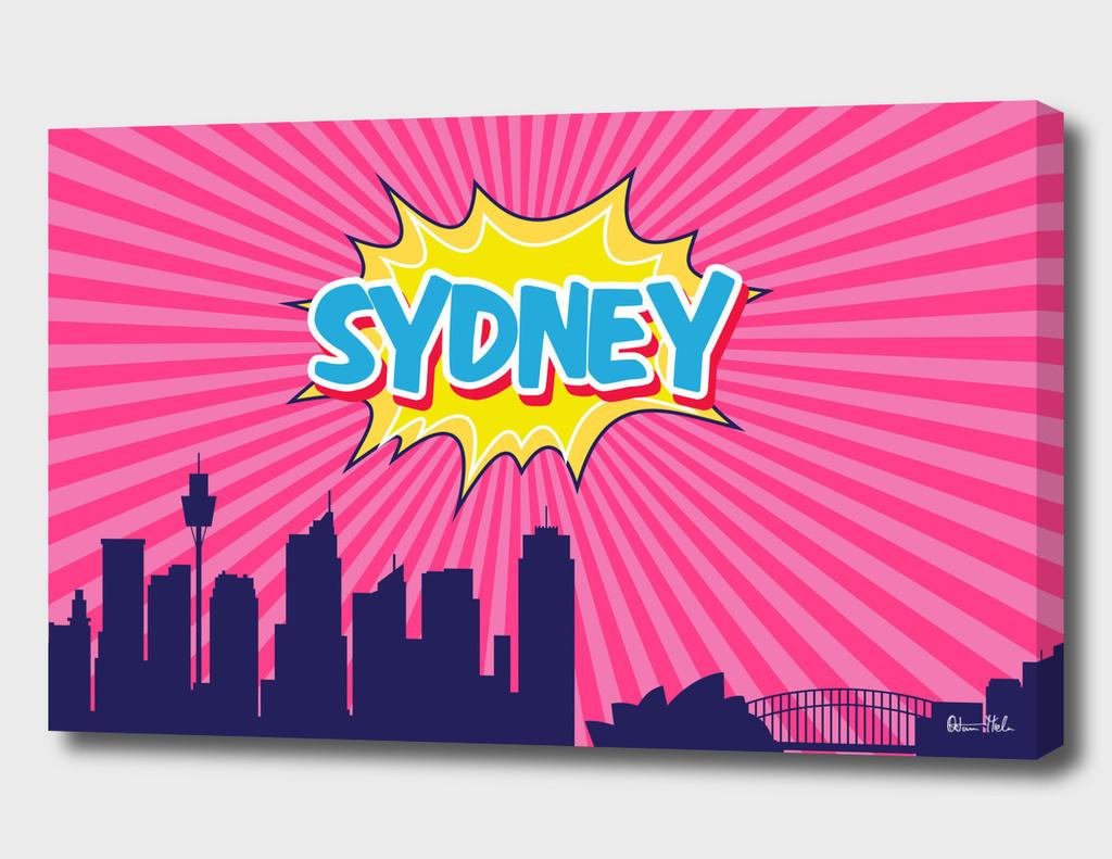 Sydney Pop Skyline