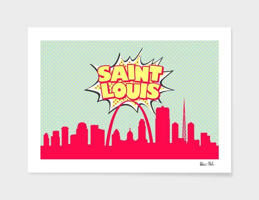 Saint Louis Pop Skyline