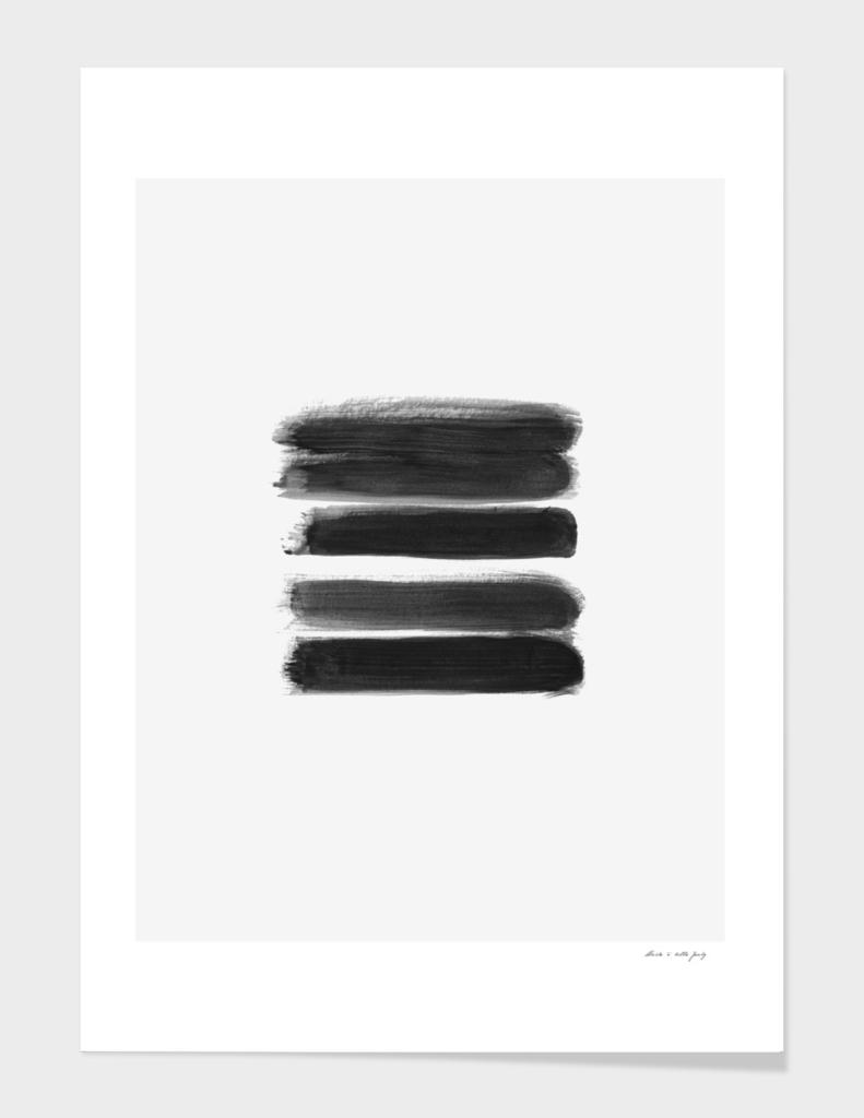 Stripes - No Comment #1 #minimal #painting #decor #art