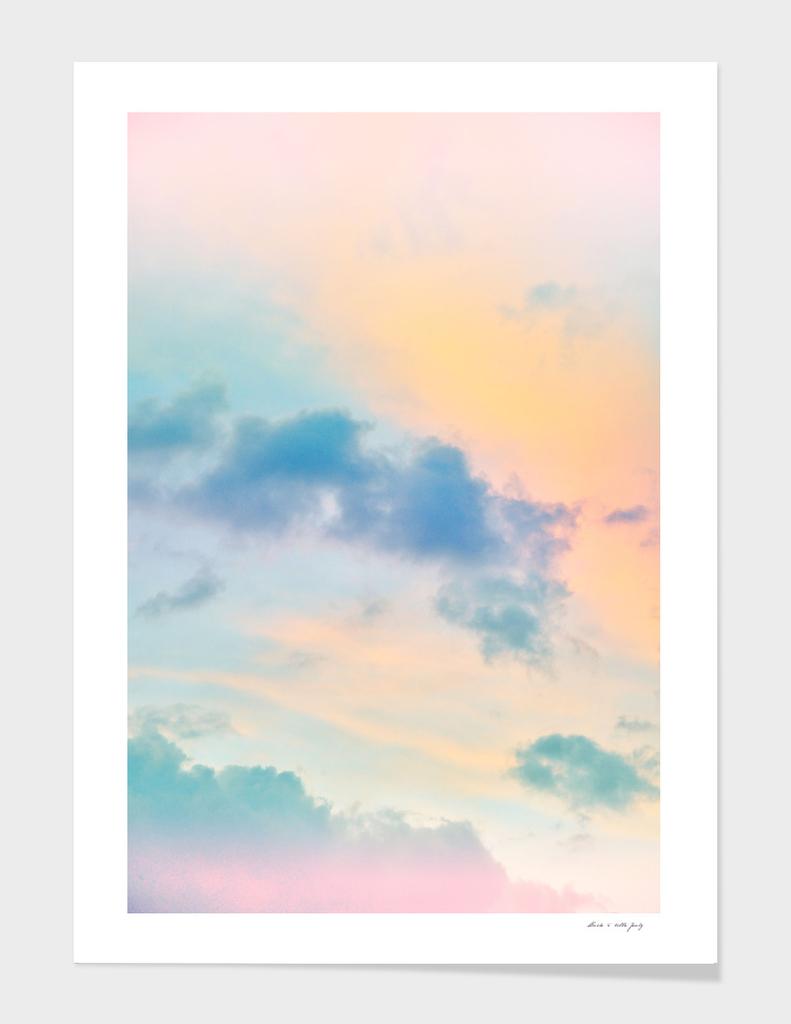 Unicorn Pastel Clouds #6 #decor #art