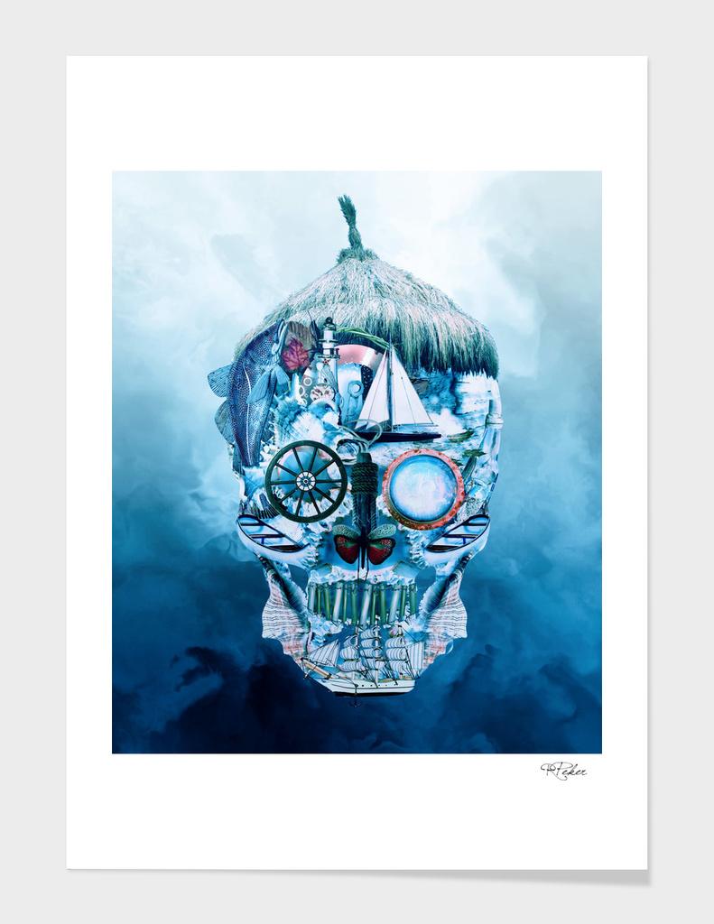 Skull Ocean Blue