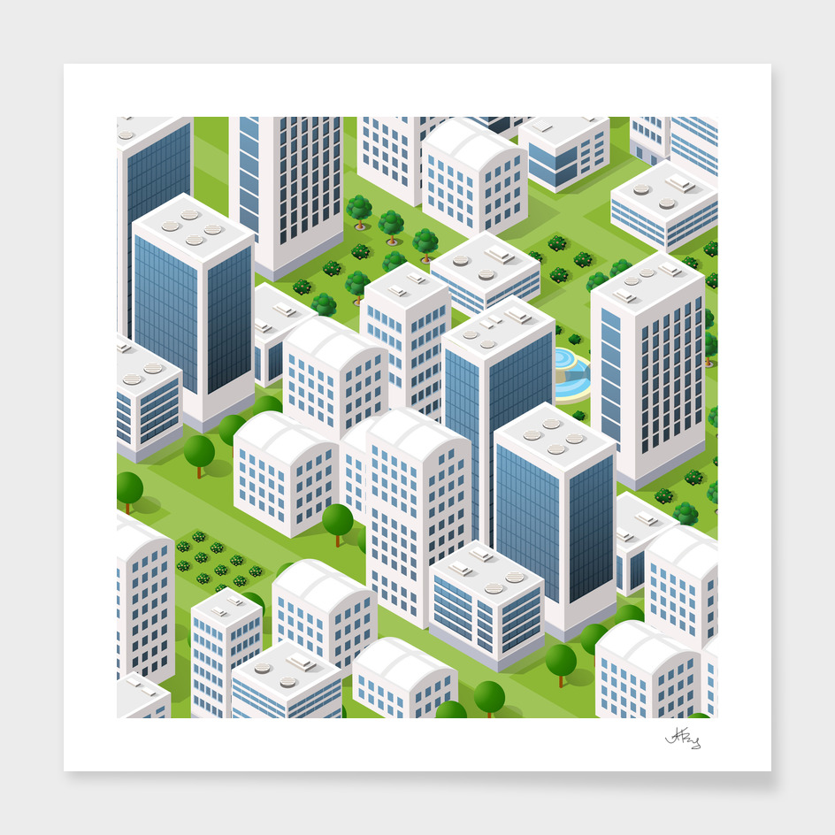 Isometric urban