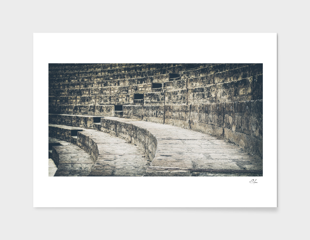 Pompei Amphitheatre stairs