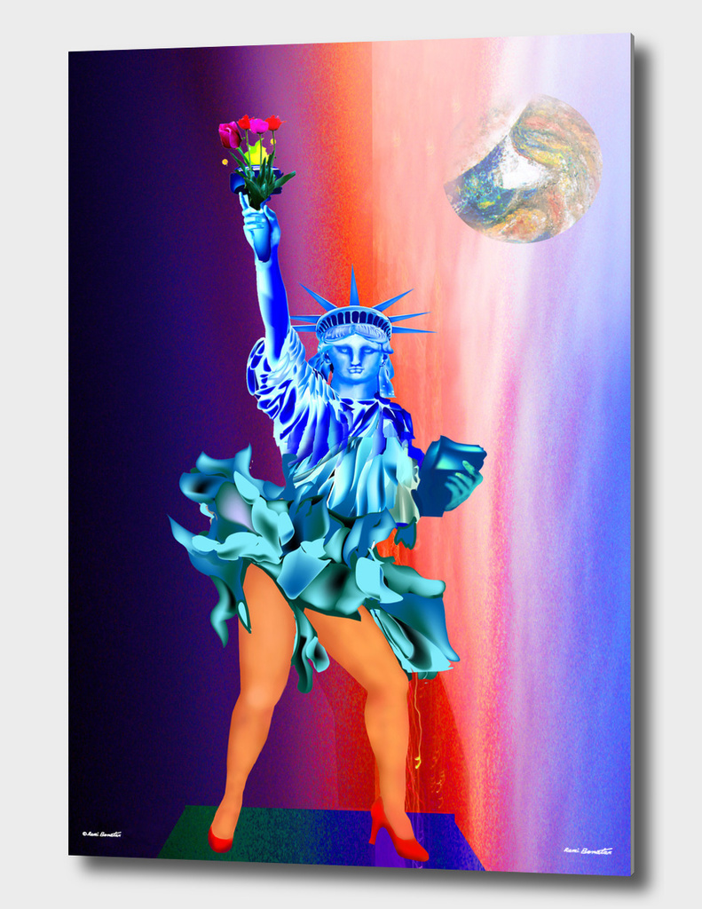 Statue of Liberty Happy Day
