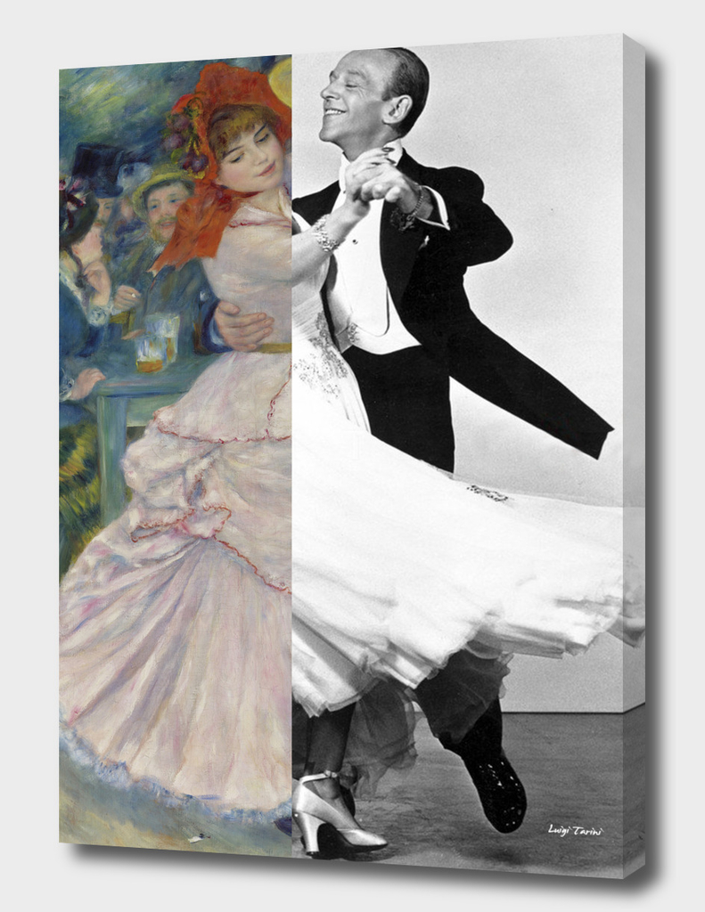 Renoir's Dance at Bougival & Fred Astaire