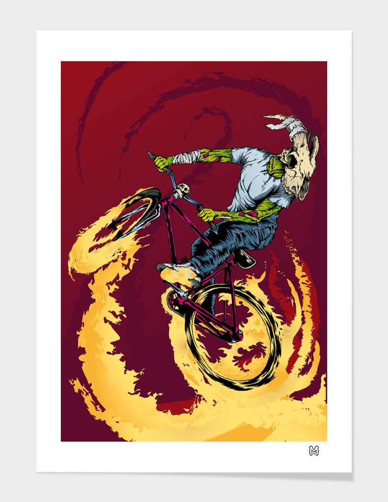 Goat Skull Rider