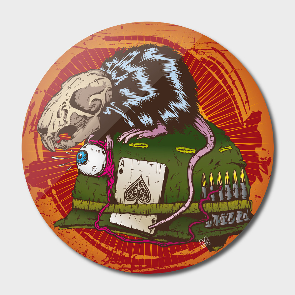 Skull Rat Nam War Helmet
