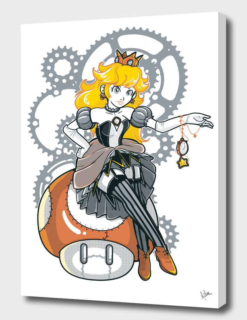 Steampunk Peach