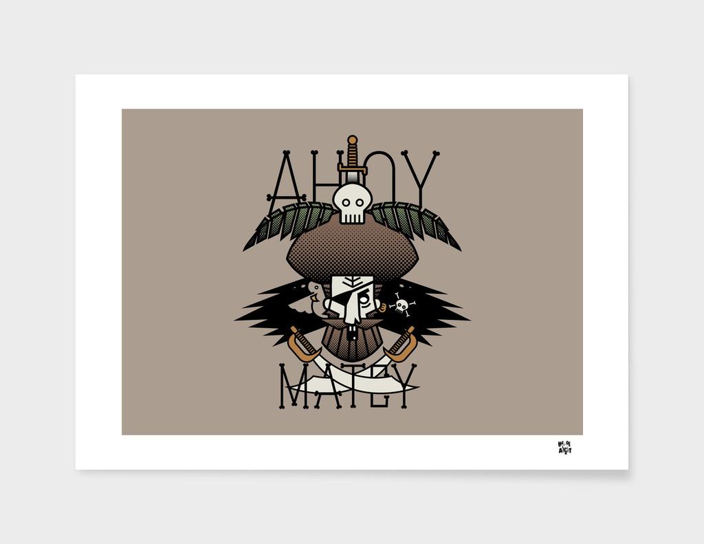 ahoy matey