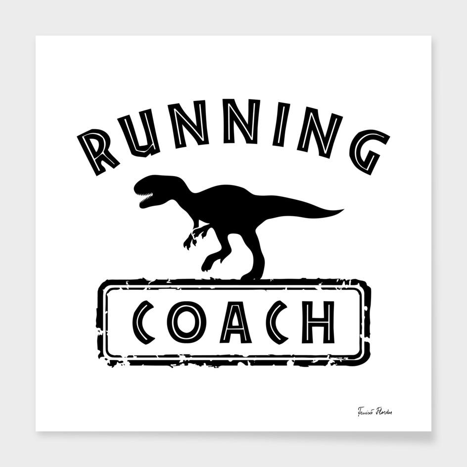 Running coach - dinosaur