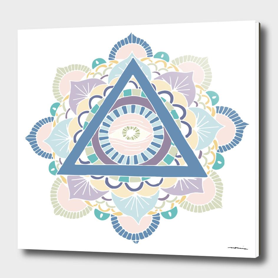Mandala - Color and White