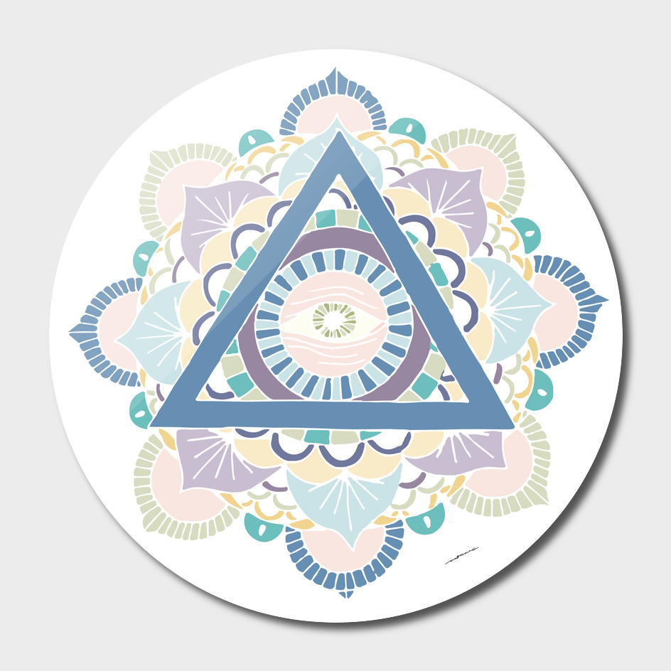 Mandala - Color and White