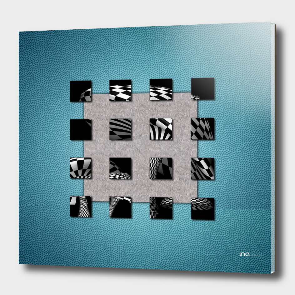 SQUARE AMBIENCE - Sporty Blue