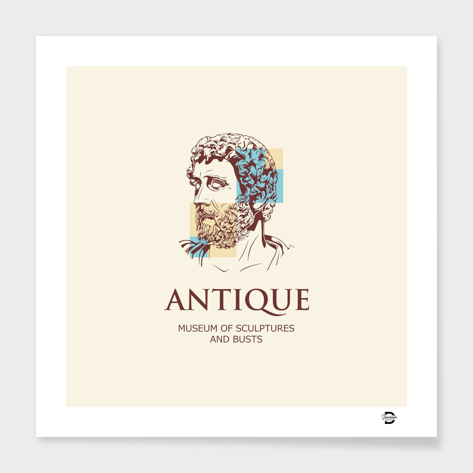 Antique man