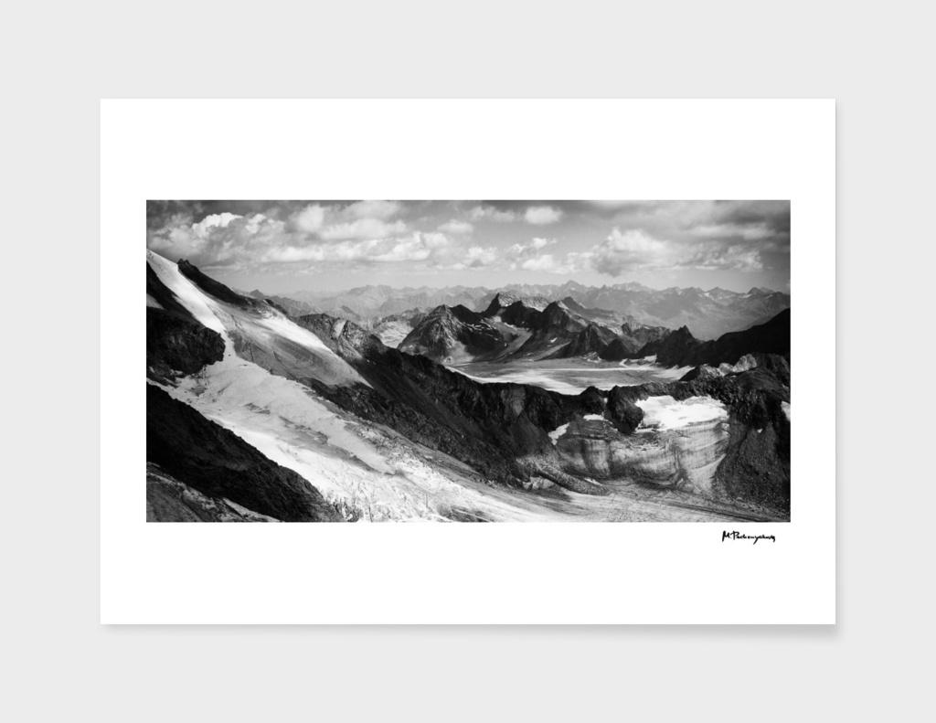 Summer glaciers