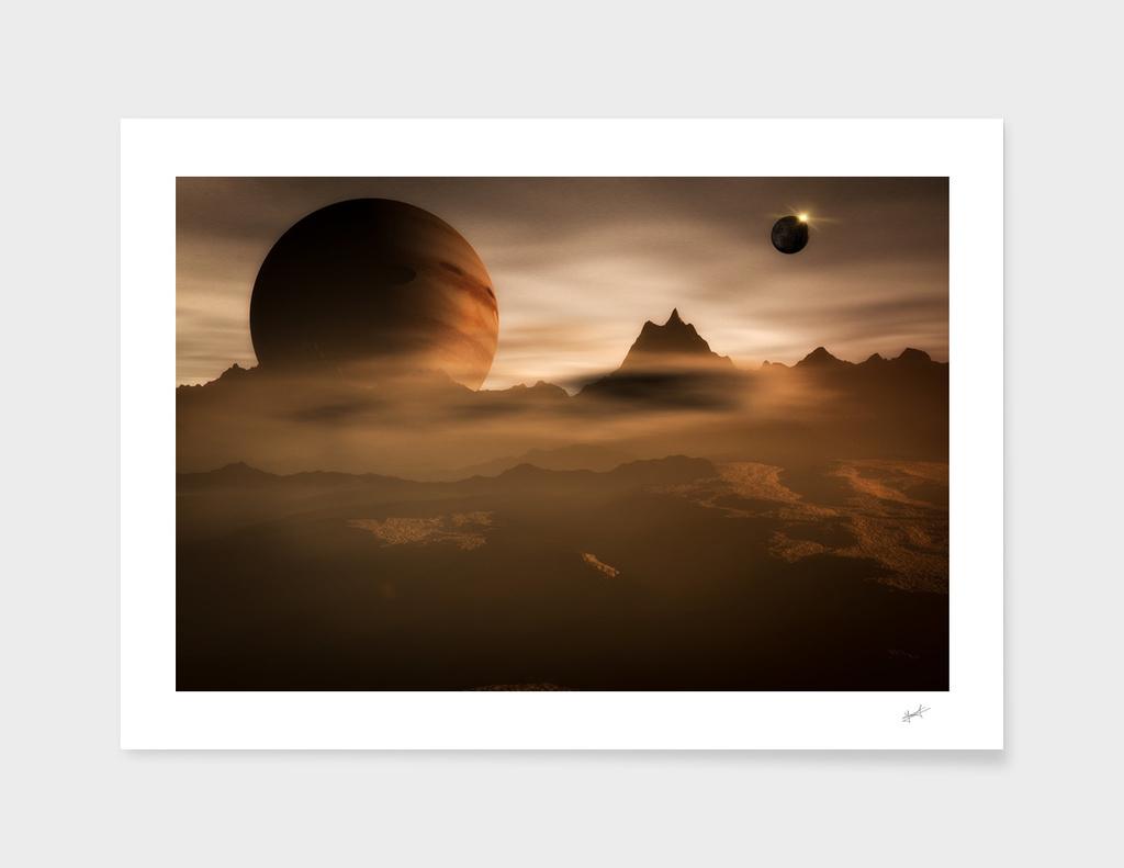 The haze on a satellit of Jupiter