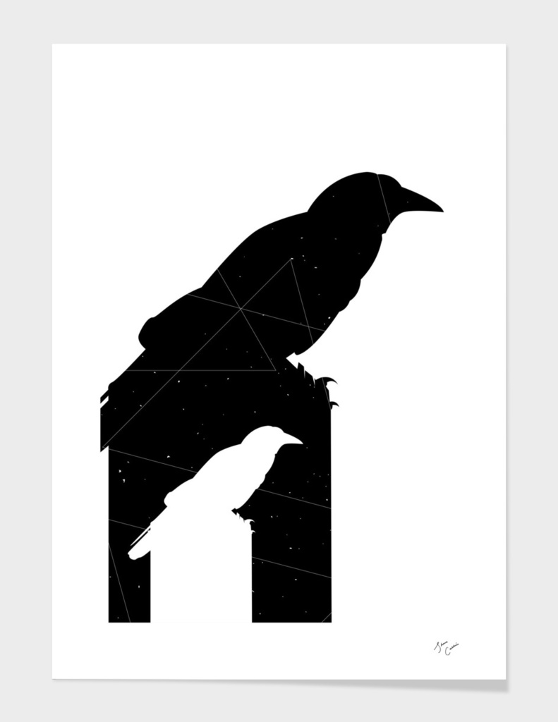 Crow Math - Black