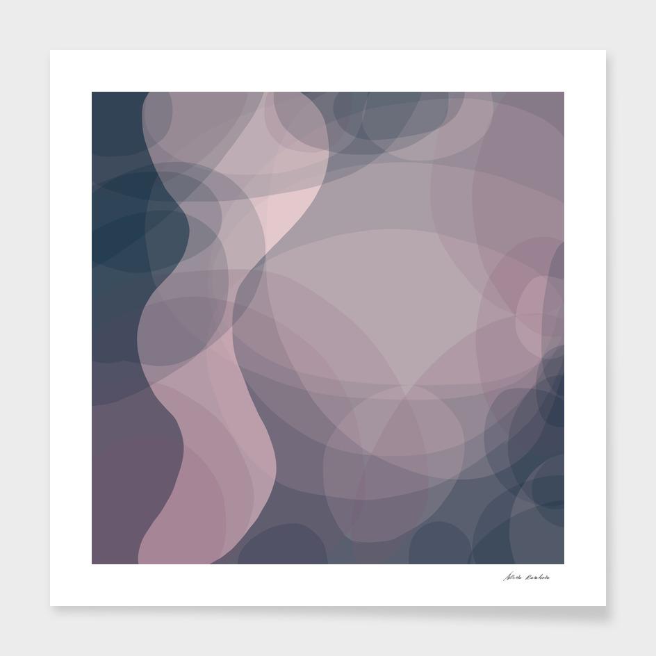 Blush Purple and Blue VII