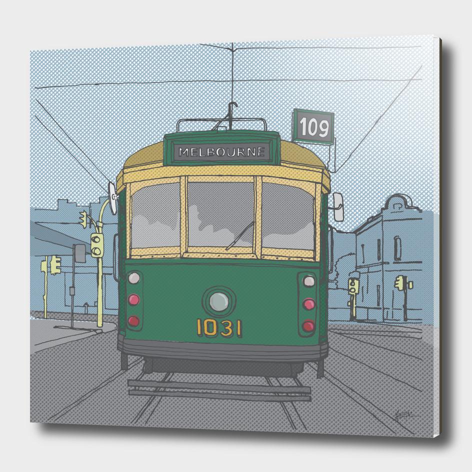 Melbourne Tram by Matthew Broughton