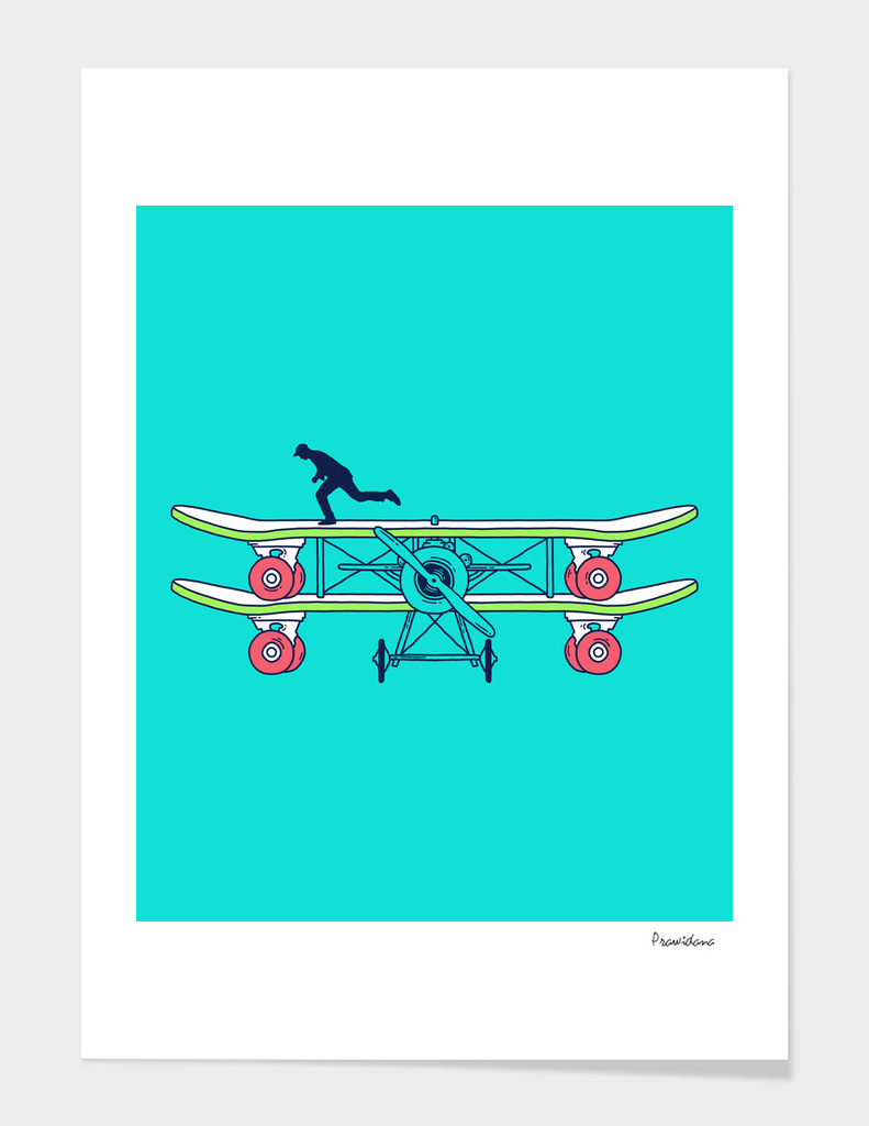 Glide on air