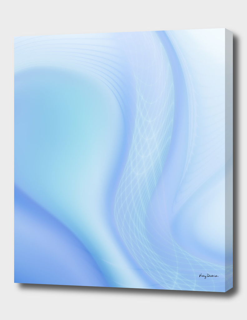 Soft Blue Wave