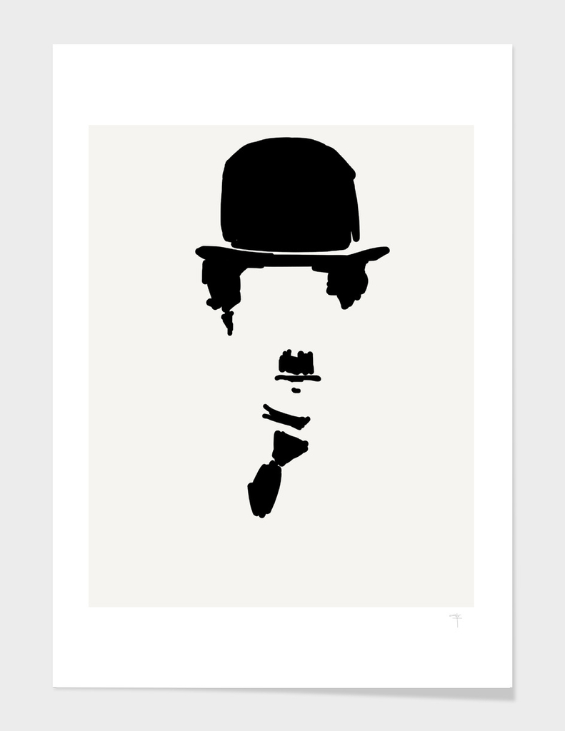 30 - Chaplin and his Hat, tie and mustache