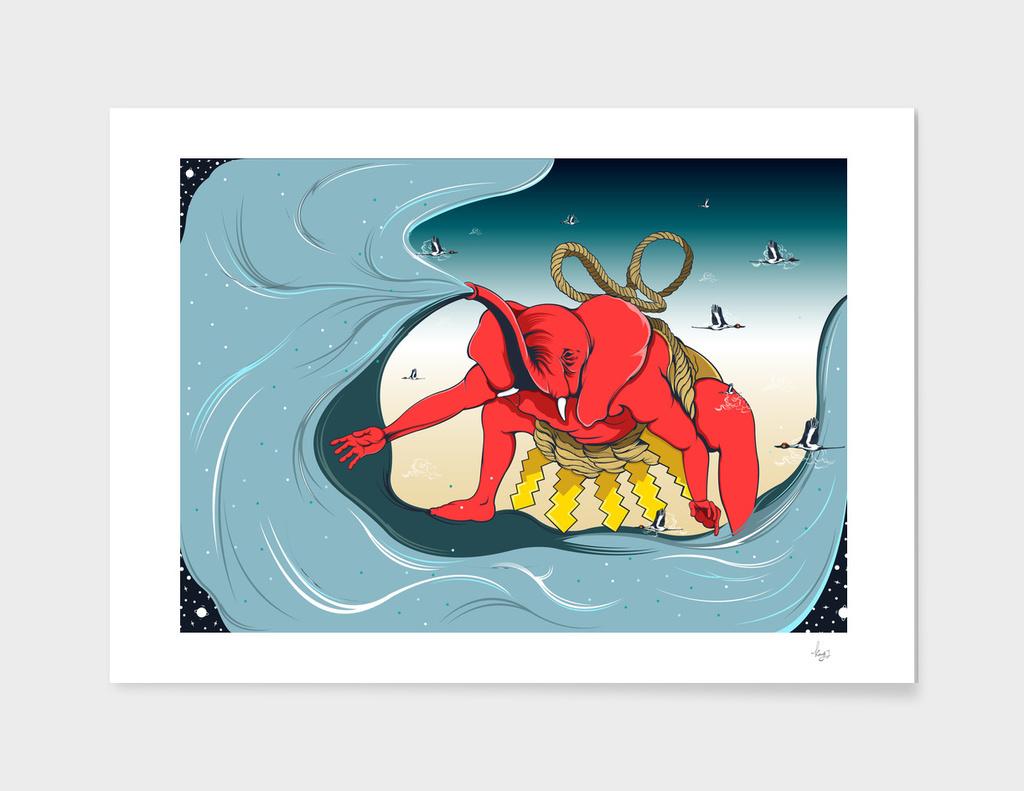 Red Elephant sumo2