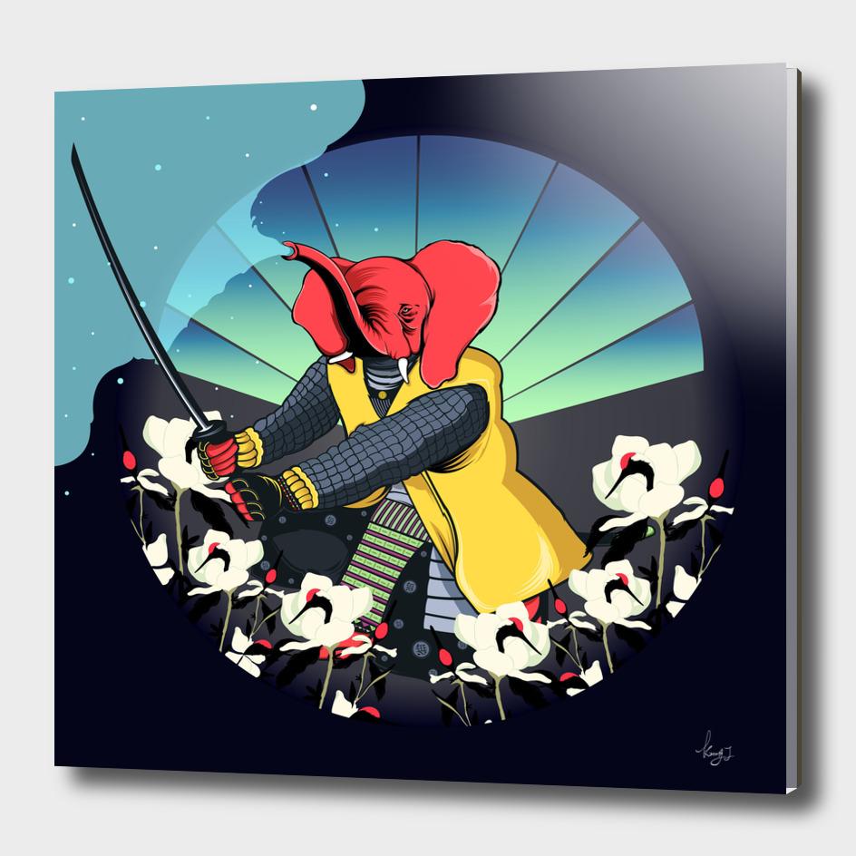 Red Elephant sumo1