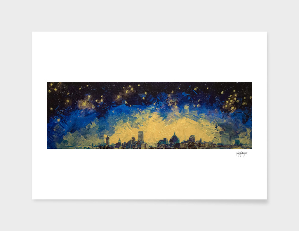 Parisian Starry Night