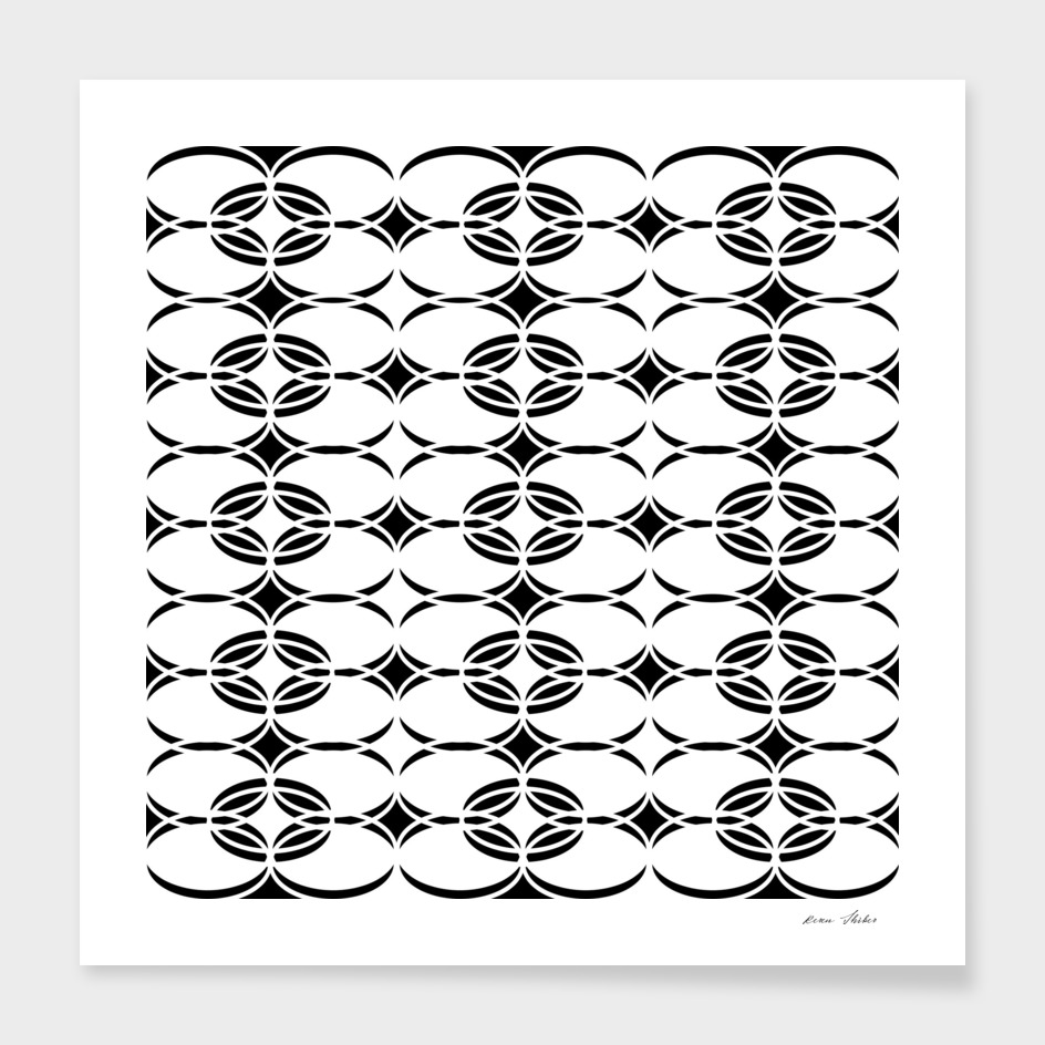 Abstract  pattern - black and white.