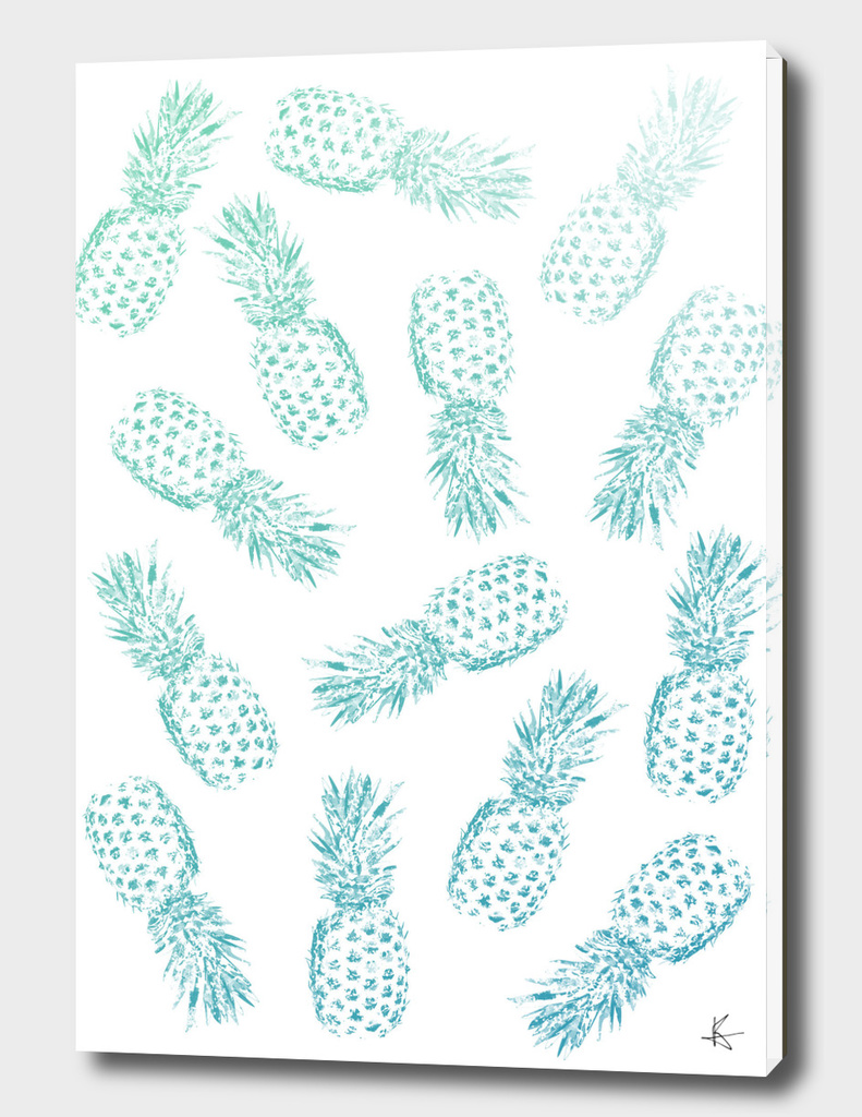 Pineapples Blue