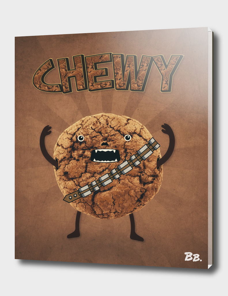 Chewy Chocolate Cookie Wookiee