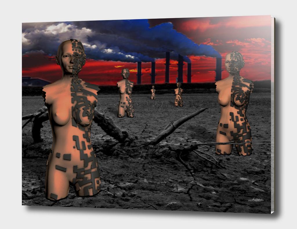 Futuristic desertion