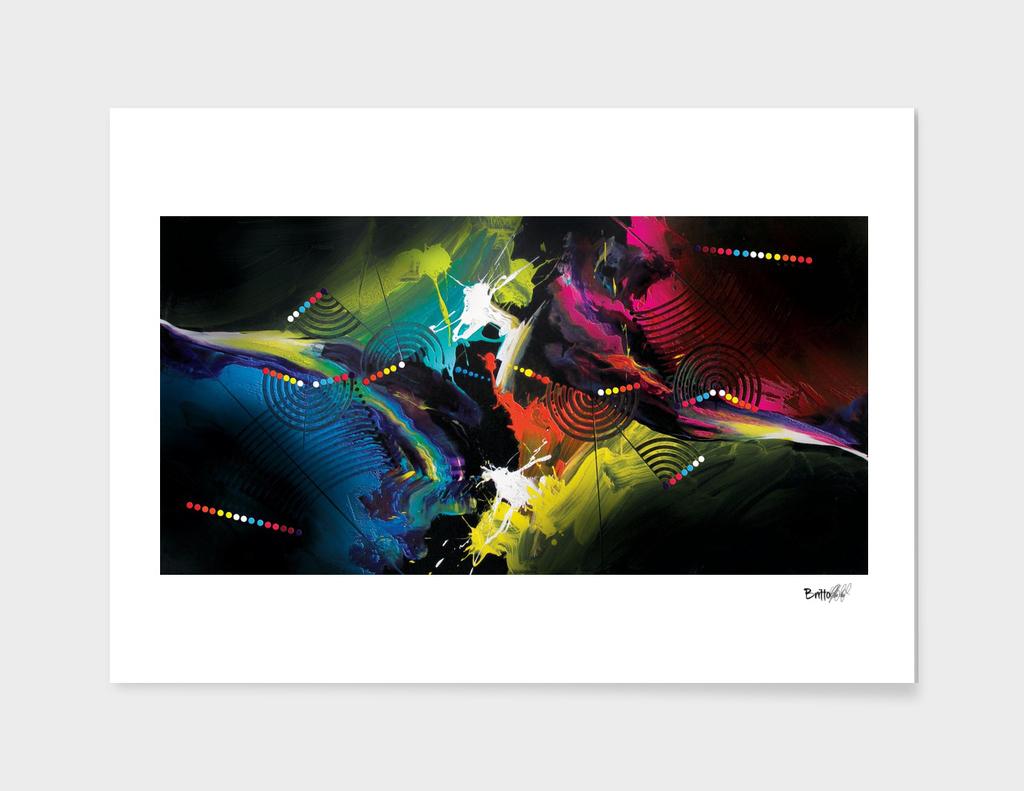 Abstract Art Britto - QB291
