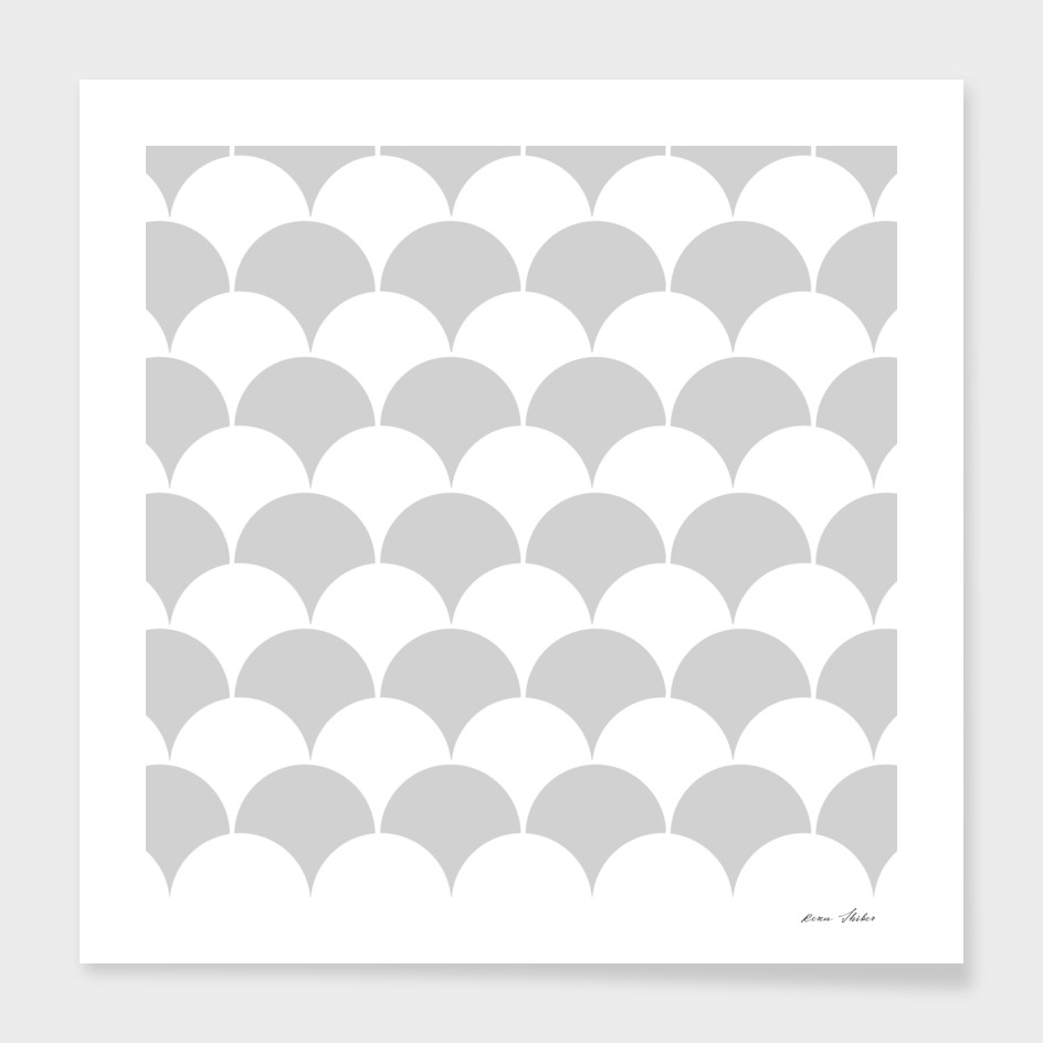Abstract pattern - gray and white.