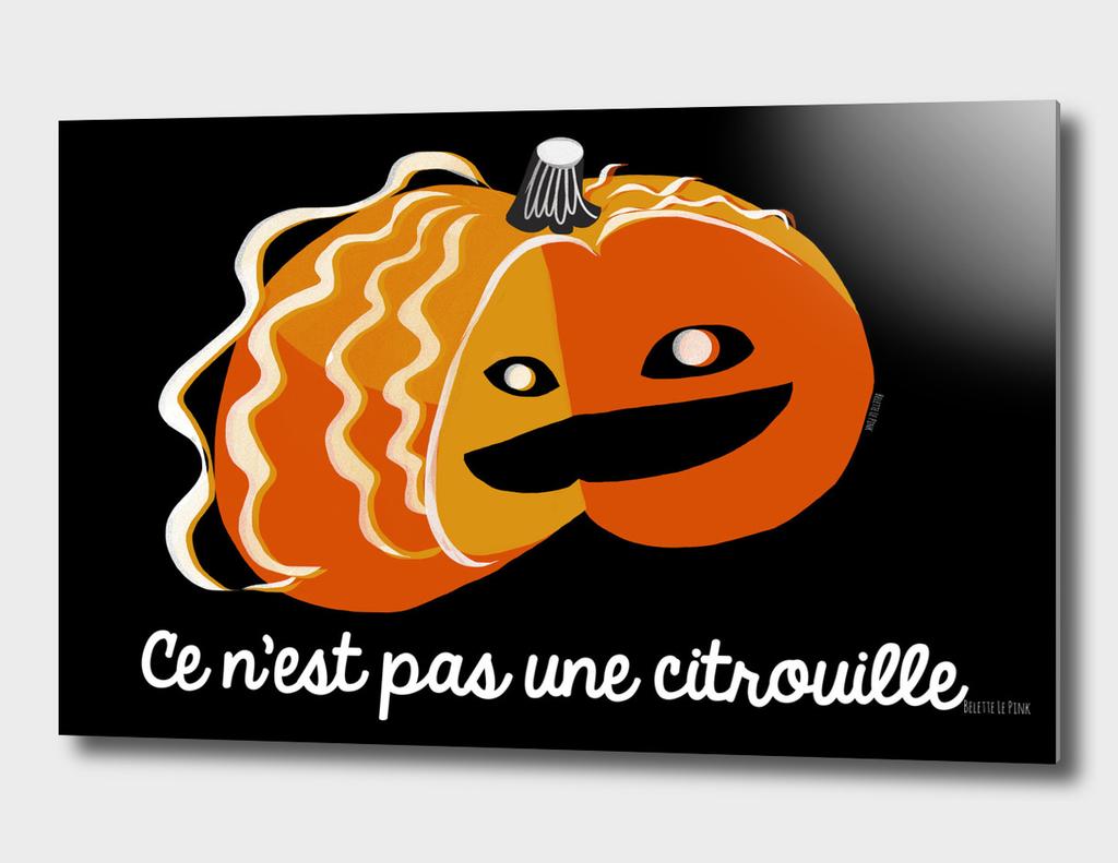 This It is not a pumpkin