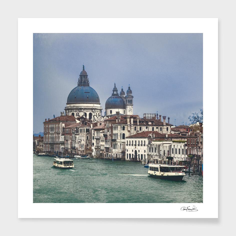 Venice Cityscape Grand Canal, Italy