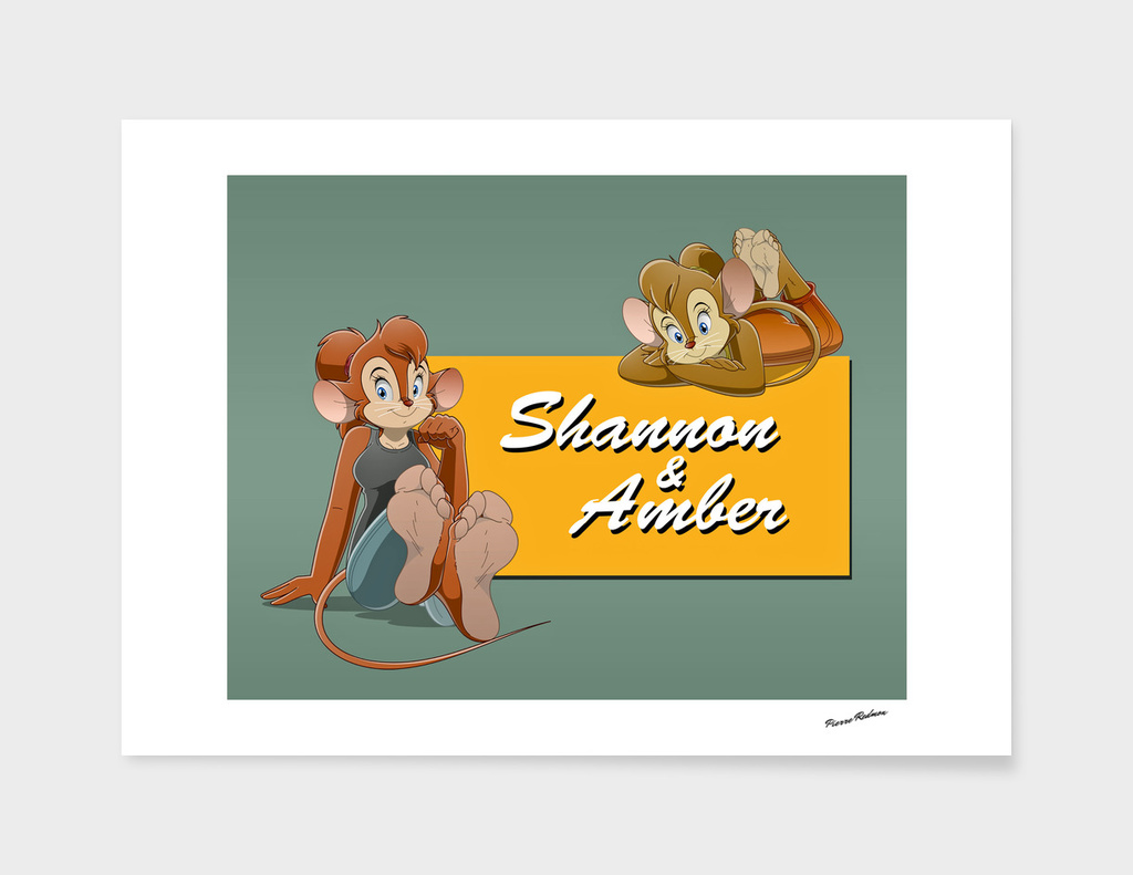 Shannon & Amber Title Card