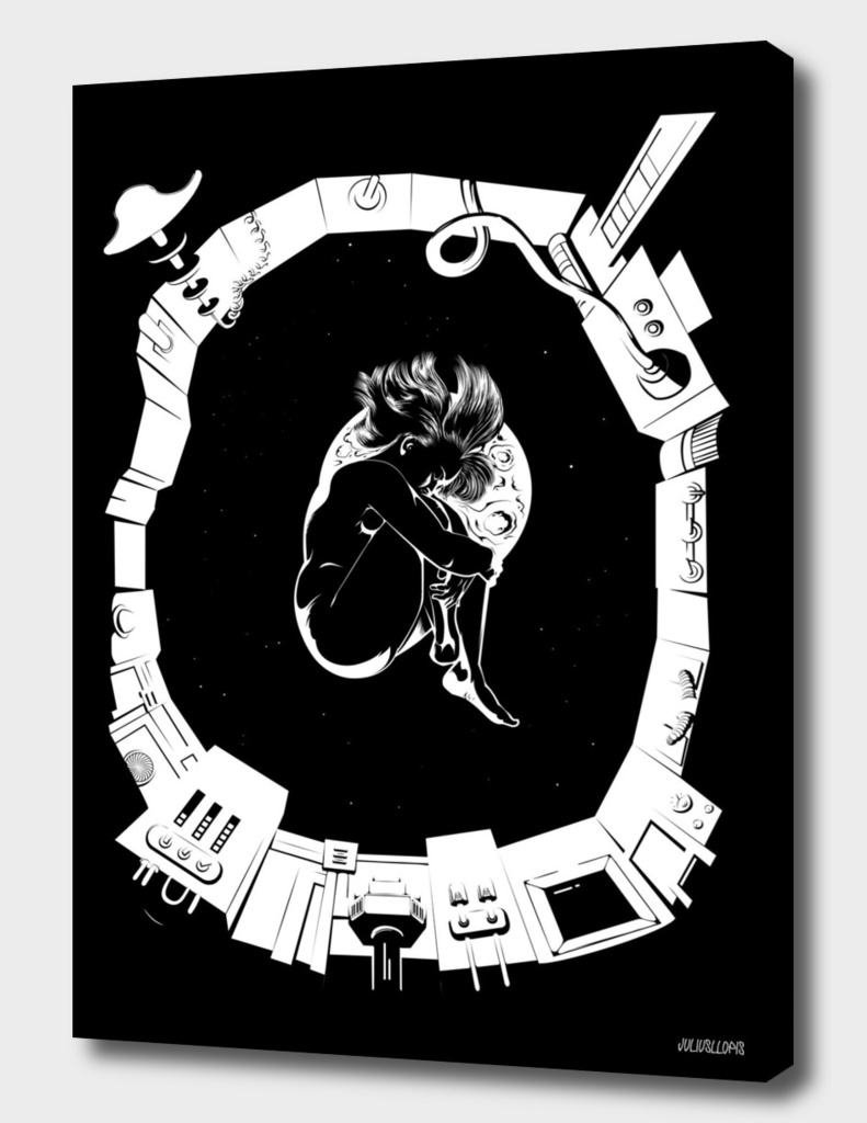 alone in space-curioos