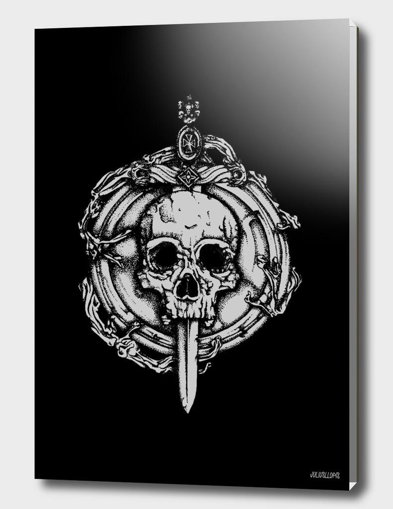 Bishop skull