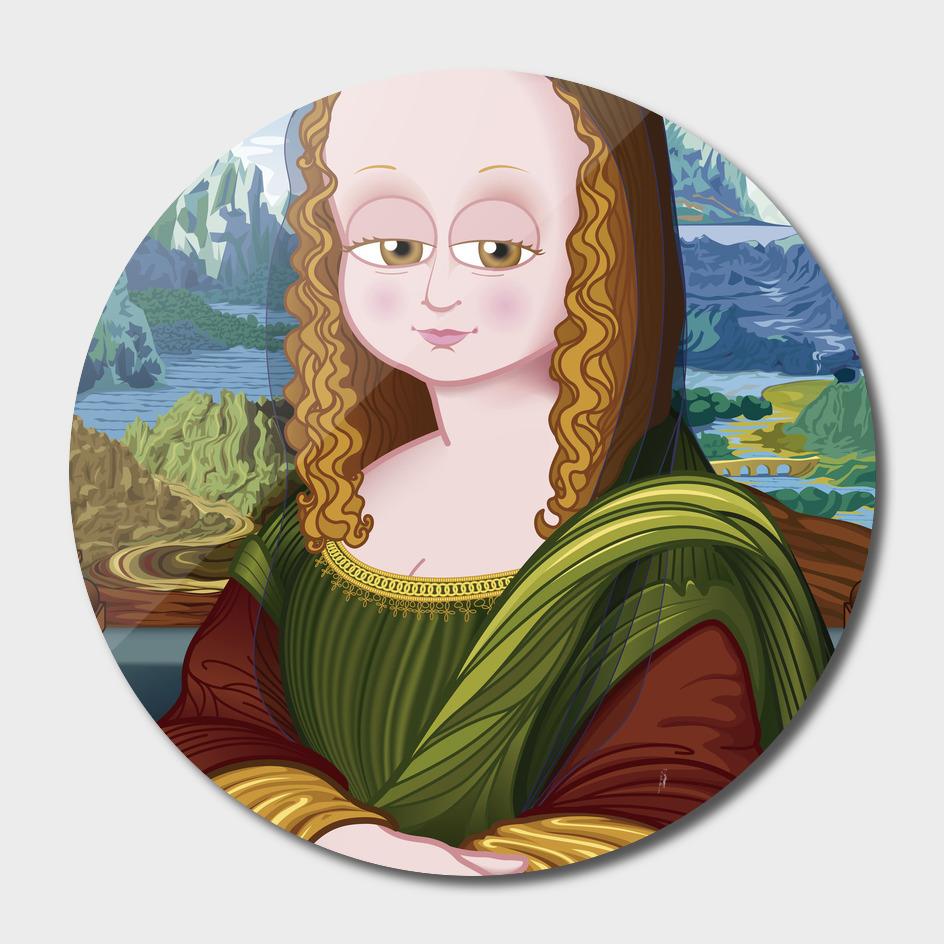 Gioconda (Mona Lisa) FNG version