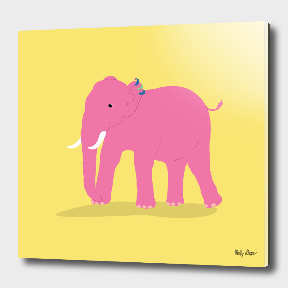 Elephant With People Ears