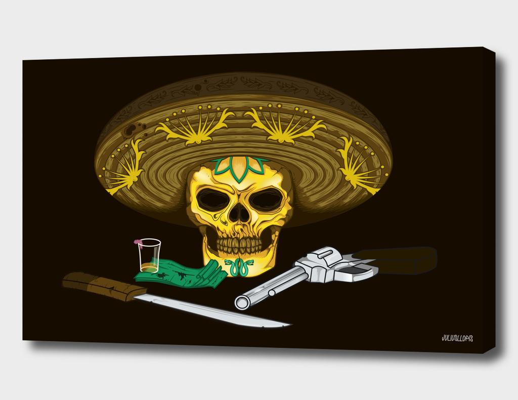 mexican skull-curioos