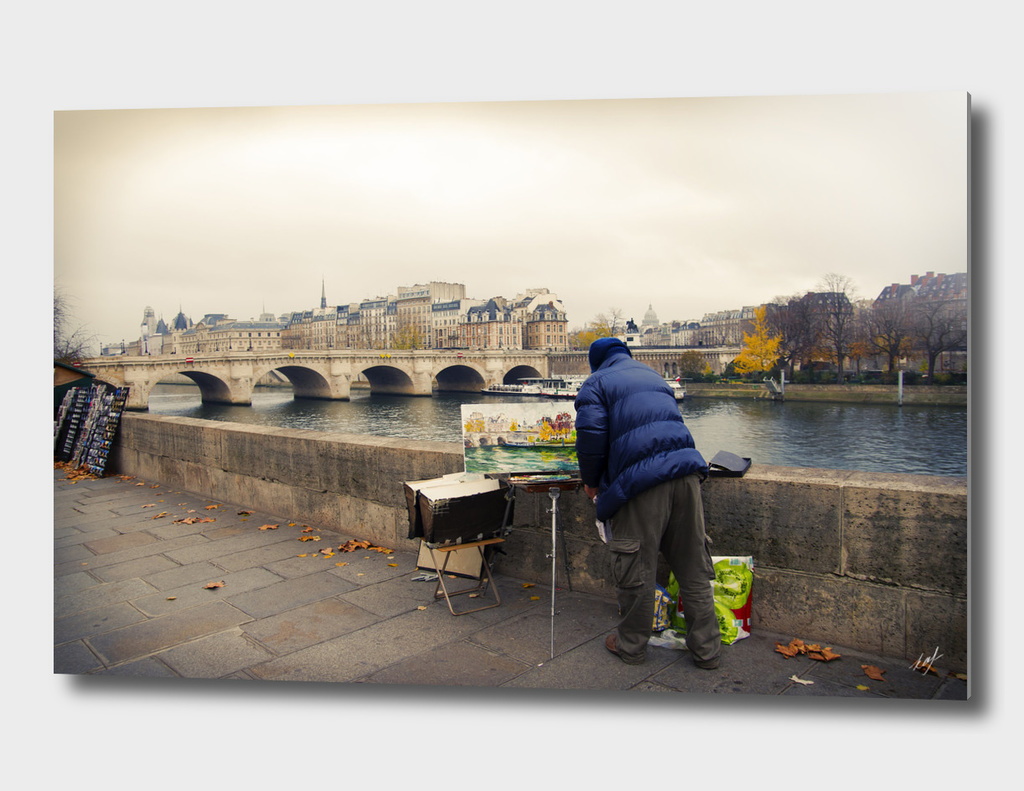 Paris Autumn Landscape
