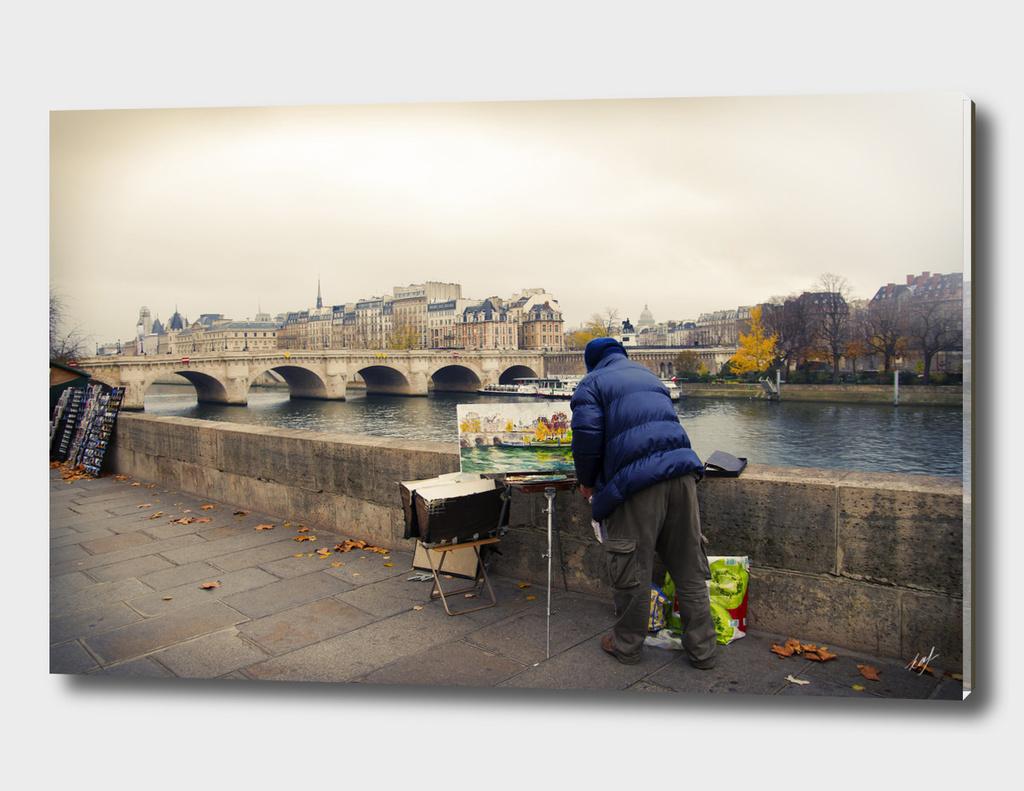 Paris Autumn Landscape
