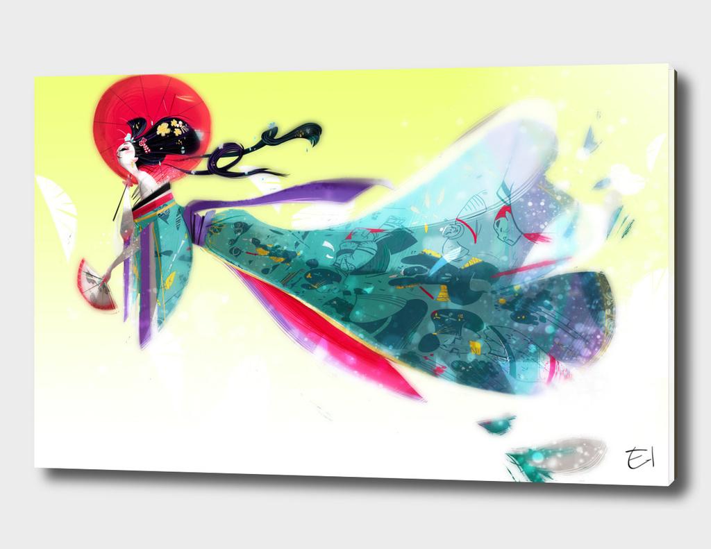 Storyteller Geisha