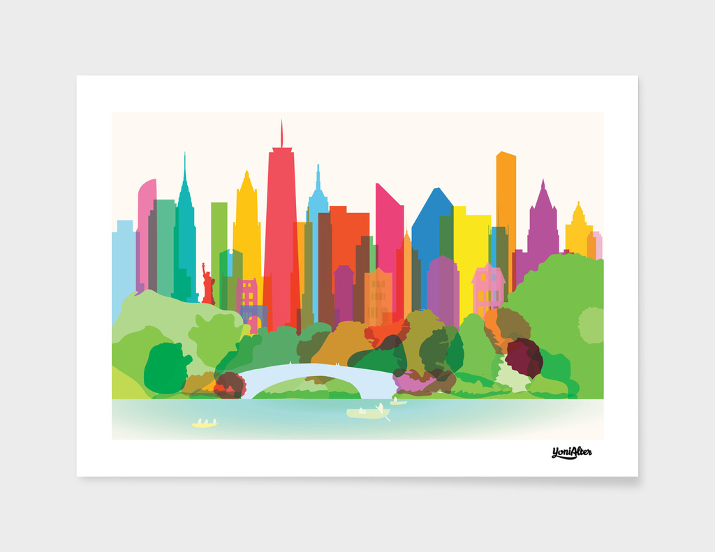 Sunny New York City